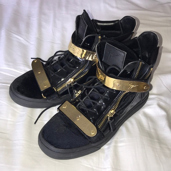 c0302def81d8d Giuseppe Zanotti Shoes | High Top Sneakers Sz 43 Us 10 | Poshmark